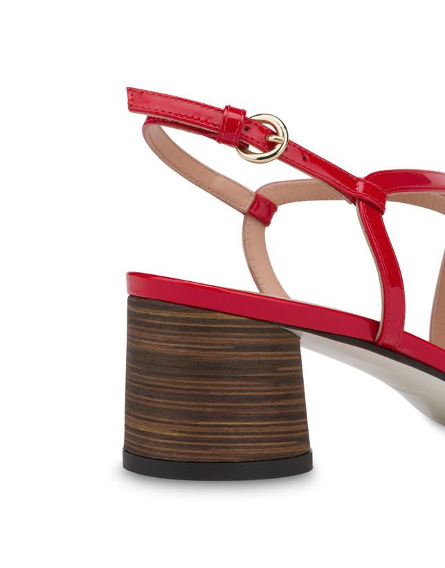 Corinto patent leather sandals Photo 5