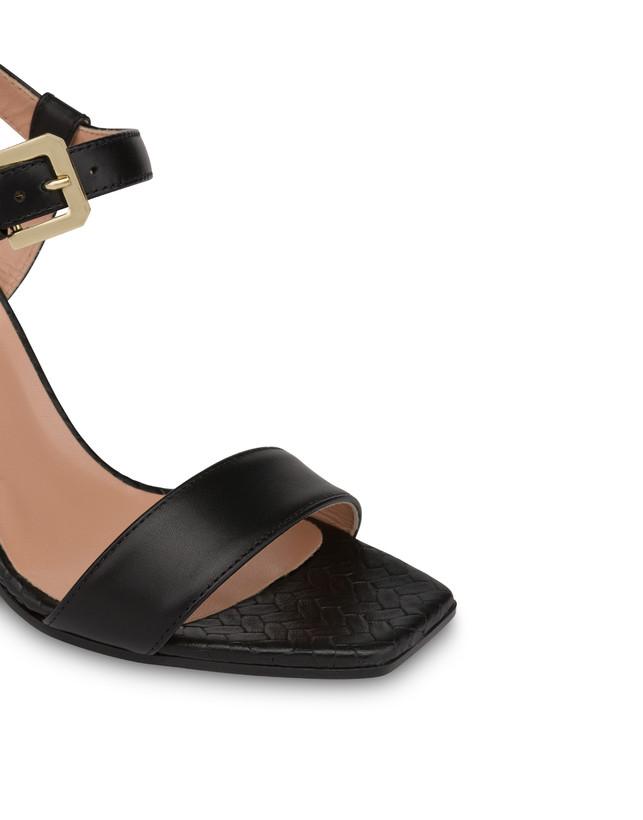 Palmes calfskin sandals Photo 4
