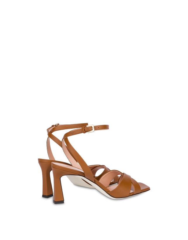 Cote D'Azur sandals in calfskin Photo 3