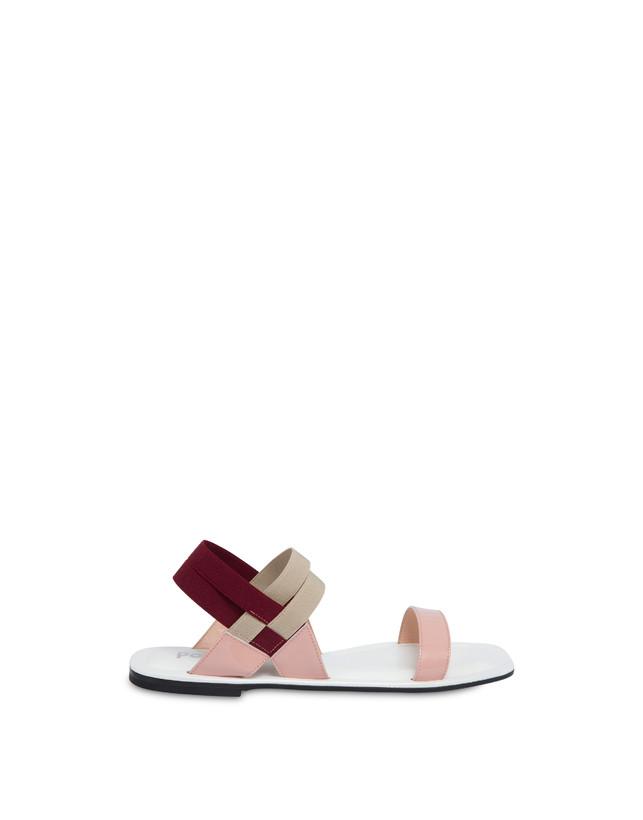 Greek Cross patent leather flat sandals Photo 1