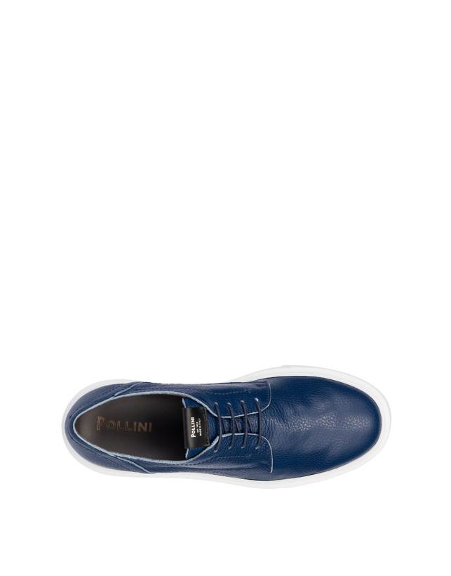 Navy calfskin sneakers Photo 3