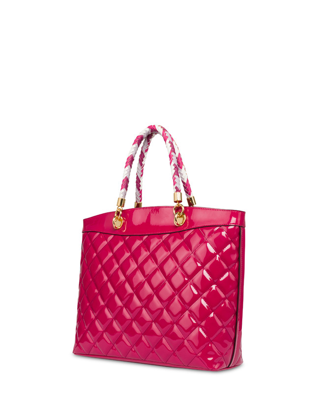 Clio quilted shopping bag with double handle Photo 3