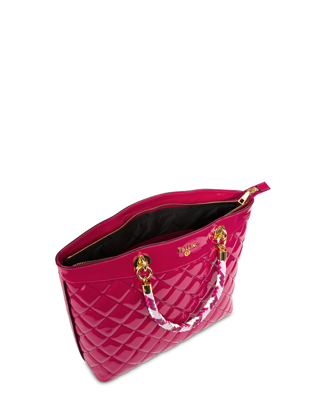 Clio quilted shopping bag with double handle Photo 5