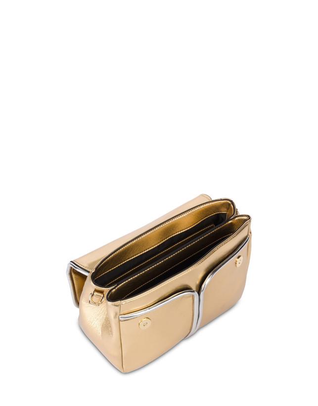 Naxos laminated shoulder bag Photo 4