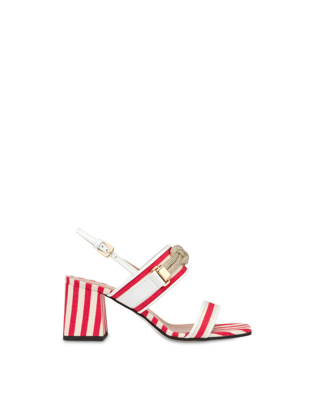 Marina striped canvas sandals Photo 1
