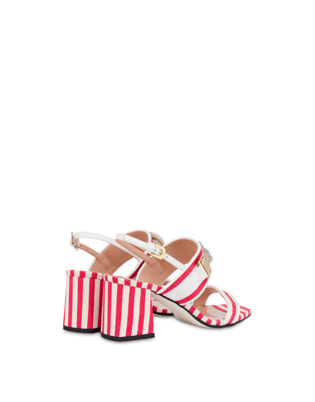 Marina striped canvas sandals Photo 3
