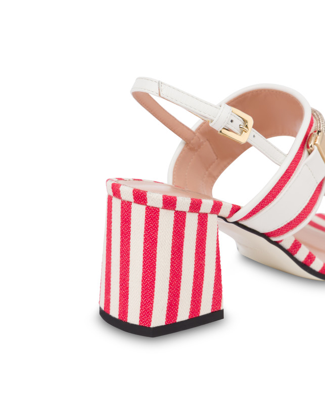 Marina striped canvas sandals Photo 5