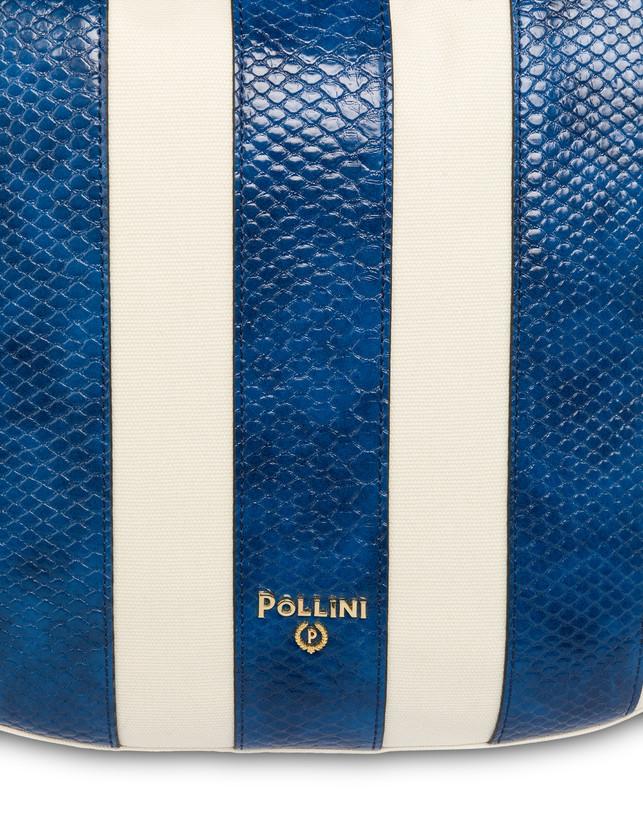 Stripe On Me hobo shoulder bag Photo 6
