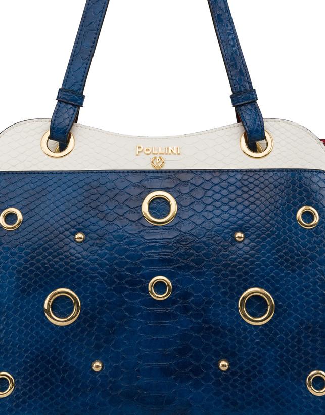 Marina Tote bag with python print Photo 5