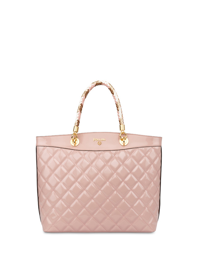 Clio quilted shopping bag with double handle Photo 1