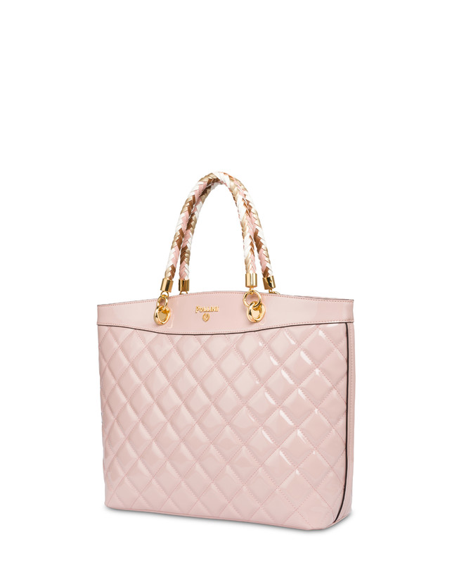 Clio quilted shopping bag with double handle Photo 2