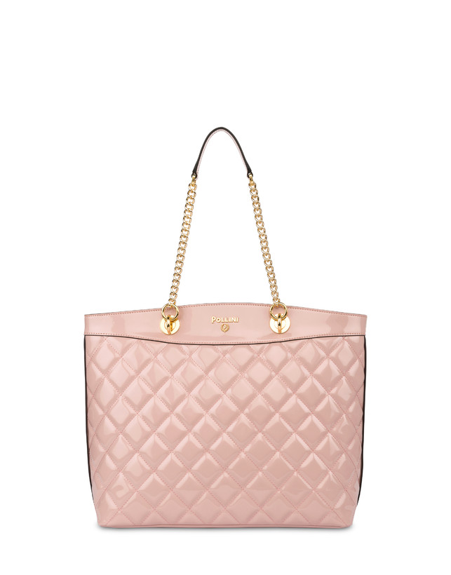 Clio quilted shopping bag with double handle Photo 4