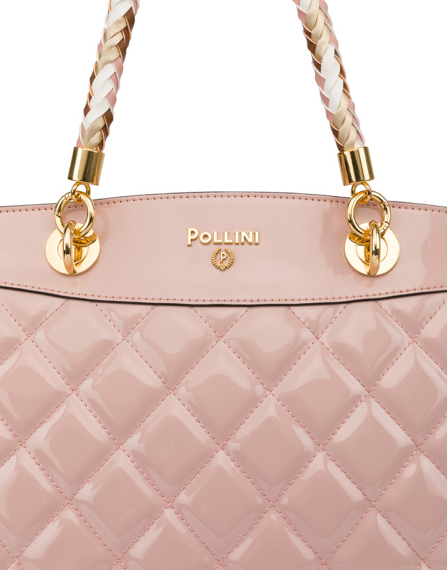 Clio quilted shopping bag with double handle Photo 6