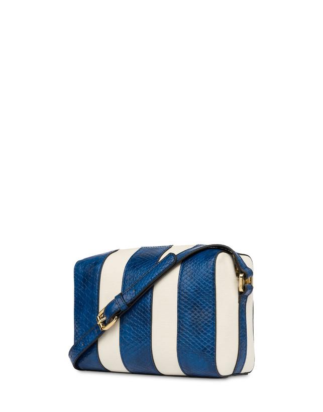 Stripe On Me canvas shoulder bag Photo 3