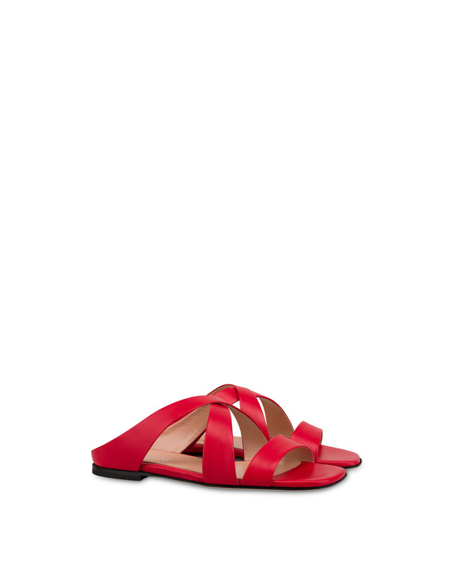 Cote D'Azur calfskin sandals Photo 2