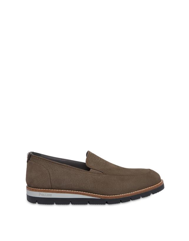 Madras print nubuck loafers Photo 1