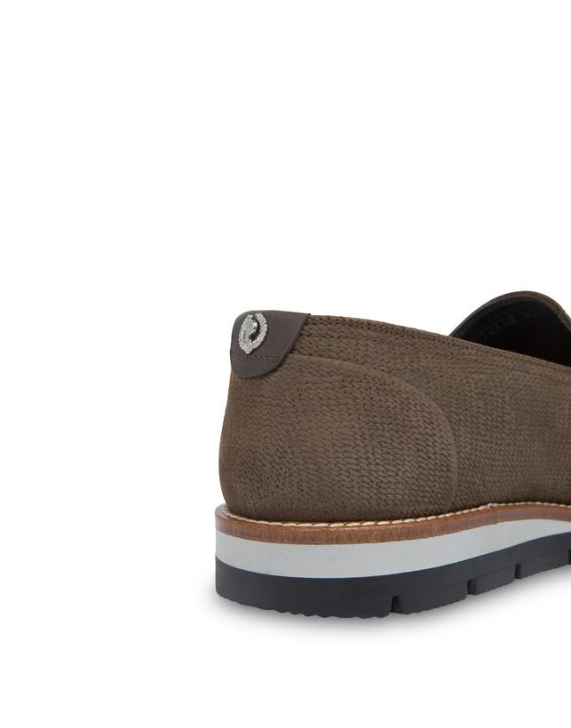 Madras print nubuck loafers Photo 6