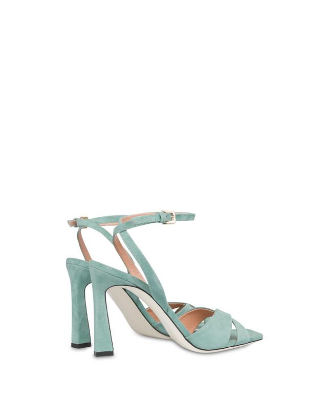 Cote d'Azur high sandals in suede Photo 3