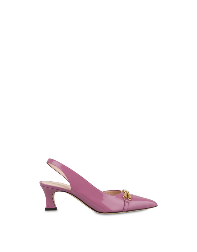 Aris patent leather slingback Photo 1