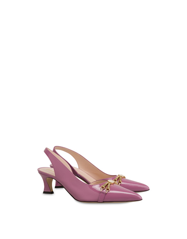 Aris patent leather slingback Photo 2