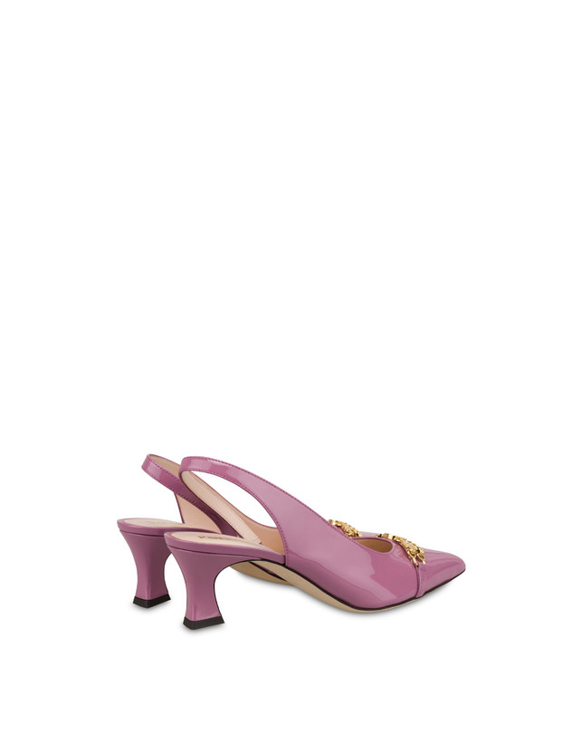 Aris patent leather slingback Photo 3