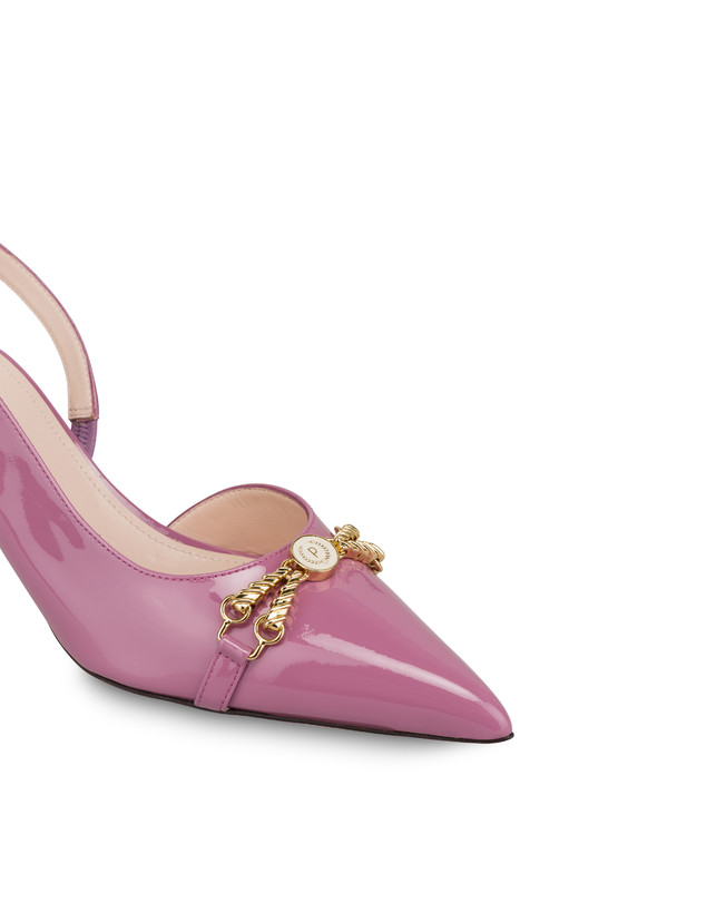 Aris patent leather slingback Photo 4