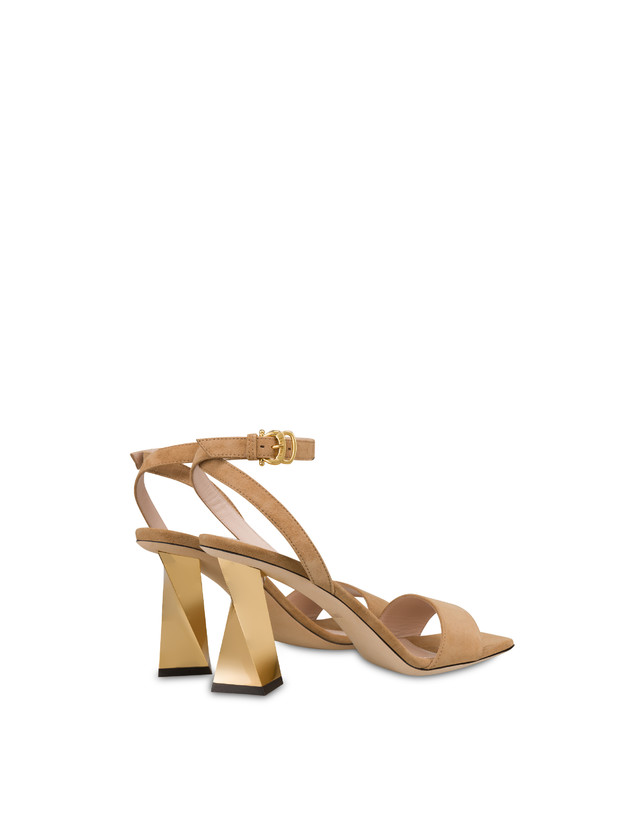 Twisted Column suede sandals Photo 3