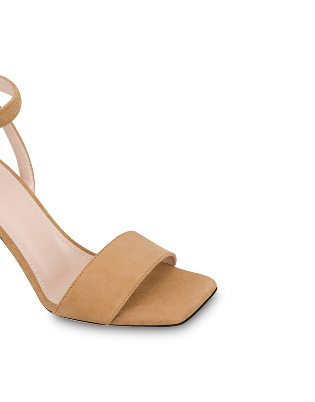 Twisted Column suede sandals Photo 4
