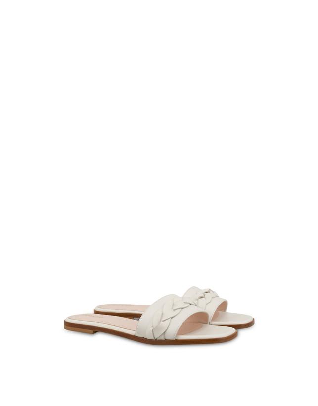 Aura flat sandals in calfskin Photo 2