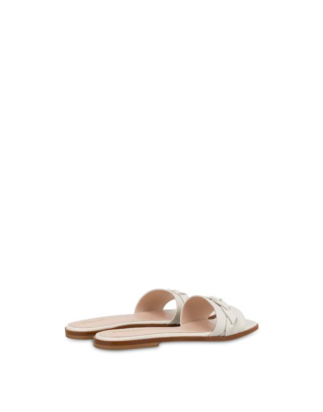 Aura flat sandals in calfskin Photo 3
