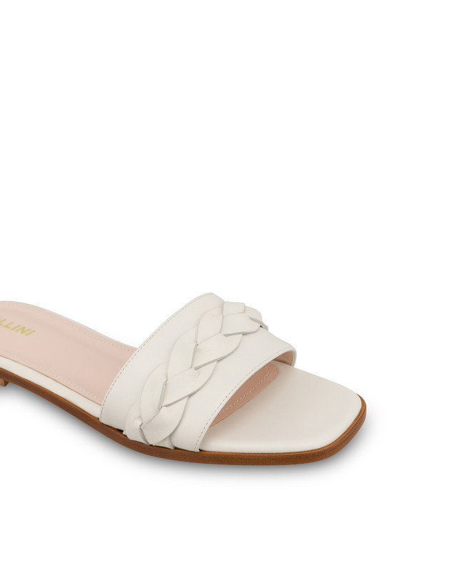 Aura flat sandals in calfskin Photo 4