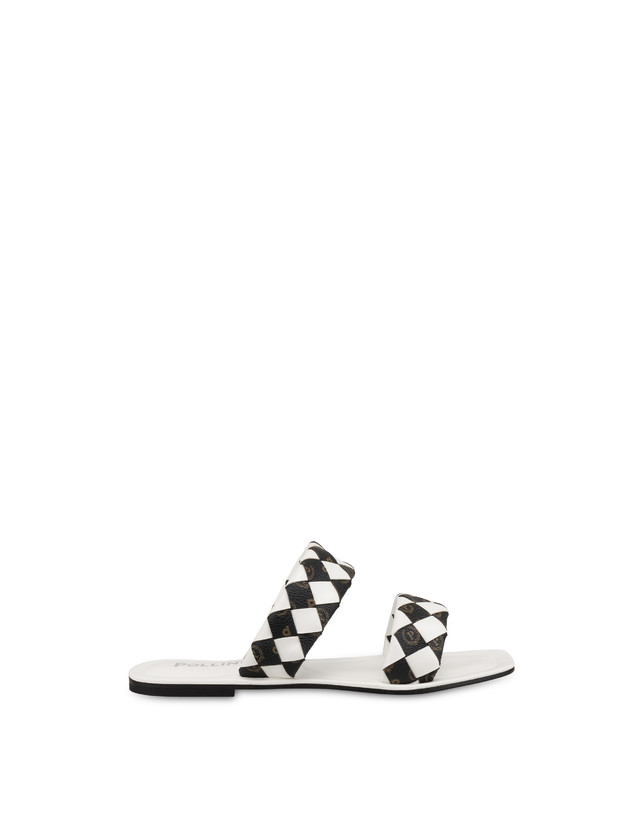 The Queen Of Chess flat sandals with Heritage inserts Photo 1