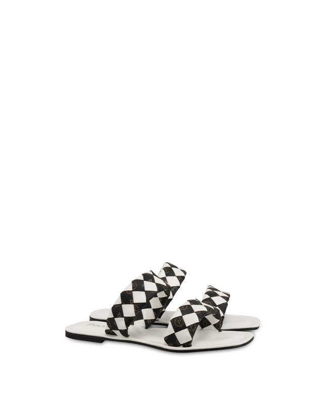 The Queen Of Chess flat sandals with Heritage inserts Photo 2