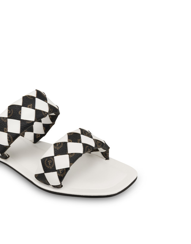 The Queen Of Chess flat sandals with Heritage inserts Photo 4