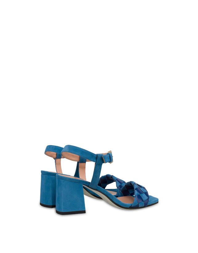 The Queen Of Chess suede sandals Photo 3