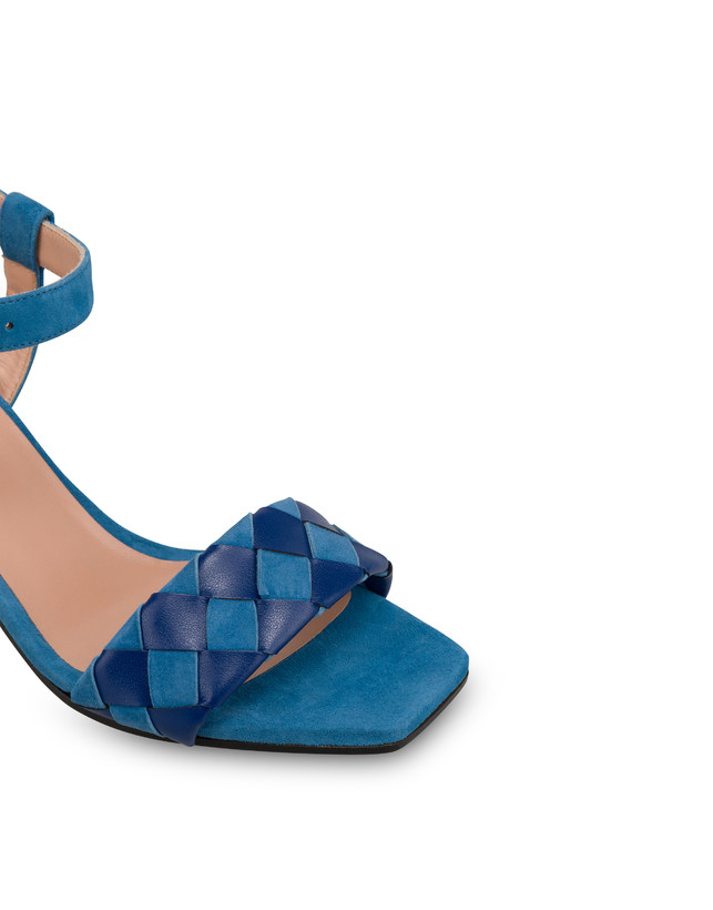 The Queen Of Chess suede sandals Photo 4