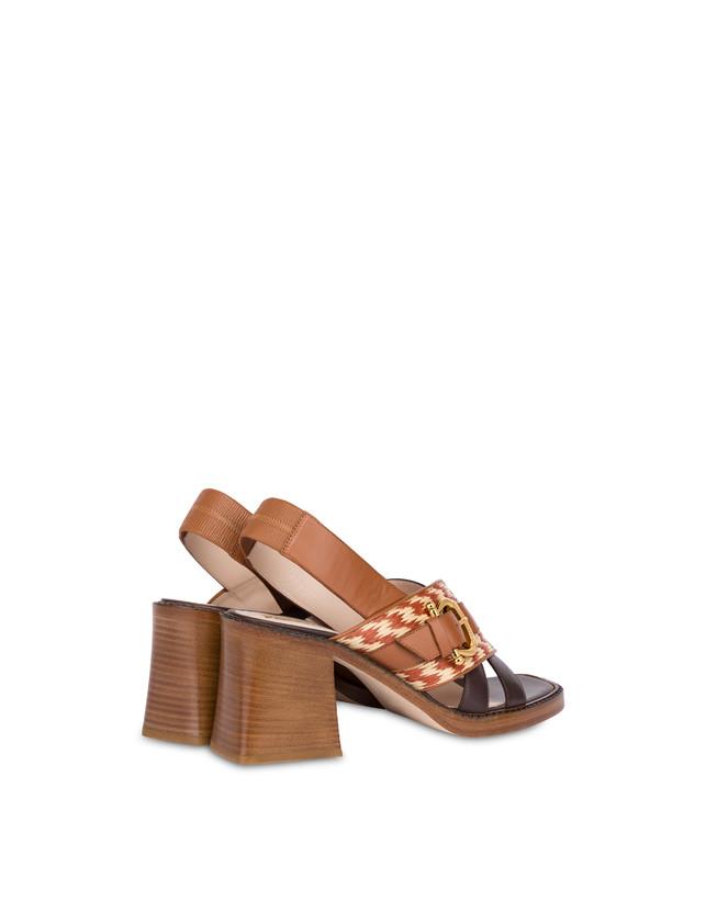 Buckle Notes calfskin sandals Photo 3