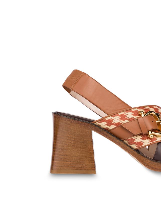 Buckle Notes calfskin sandals Photo 5