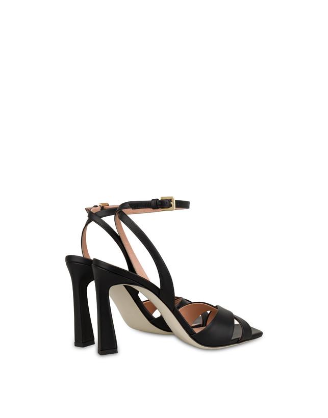 Cote D'Azur high sandals in calfskin Photo 3