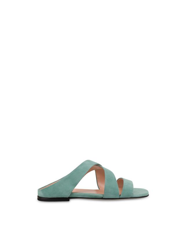 Cote D'Azur suede sandals Photo 1