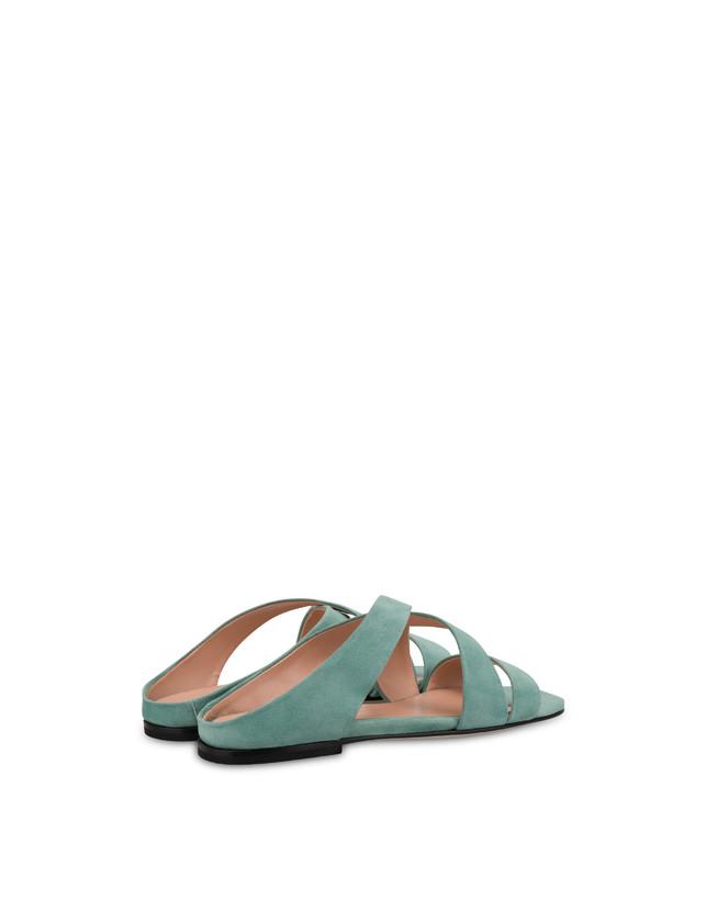 Cote D'Azur suede sandals Photo 3