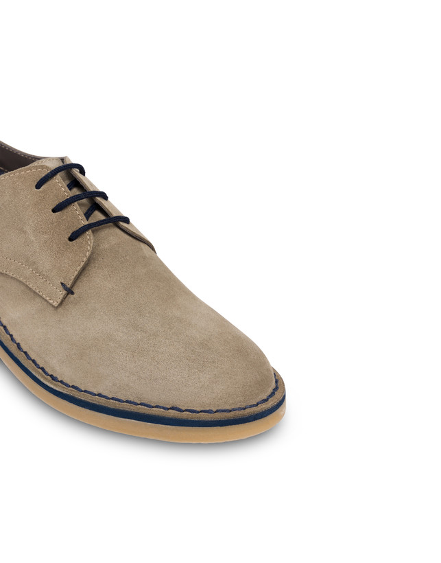 Samos split-grain leather derby Photo 5