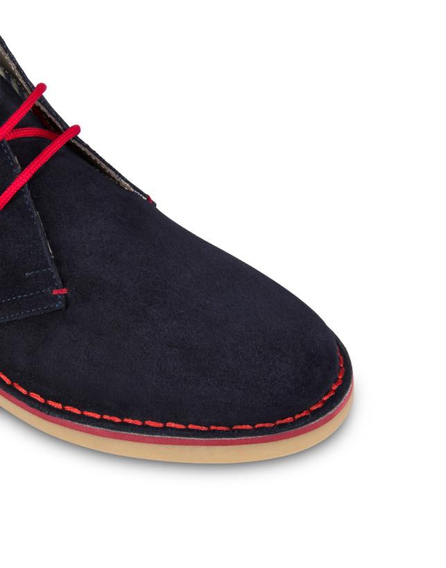 Samos desert boot in split-grain leather Photo 5