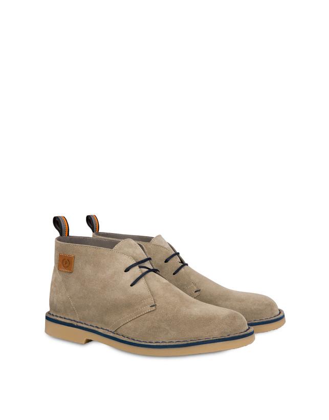 Samos desert boot in split-grain leather Photo 2