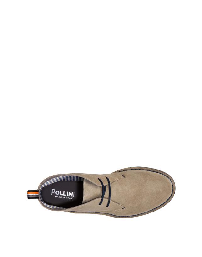 Samos desert boot in split-grain leather Photo 3