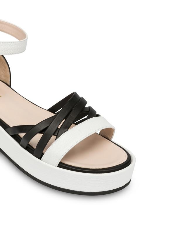 Pollini You Design flatform sandals Photo 4