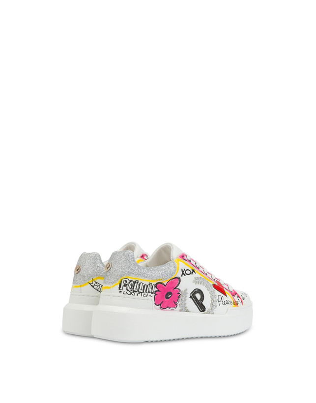 'Please don't eat the flowers' sneakers Photo 3
