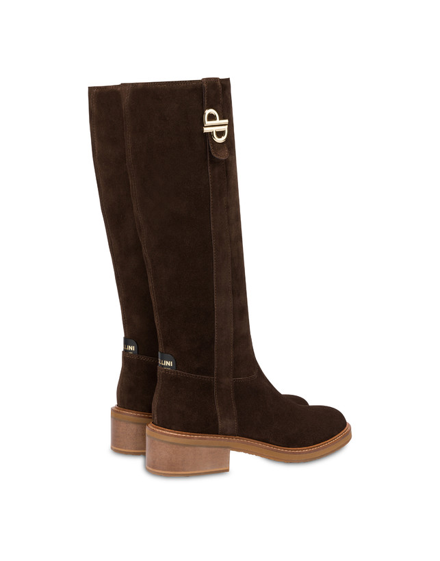 Twin P split-leather boots Photo 3