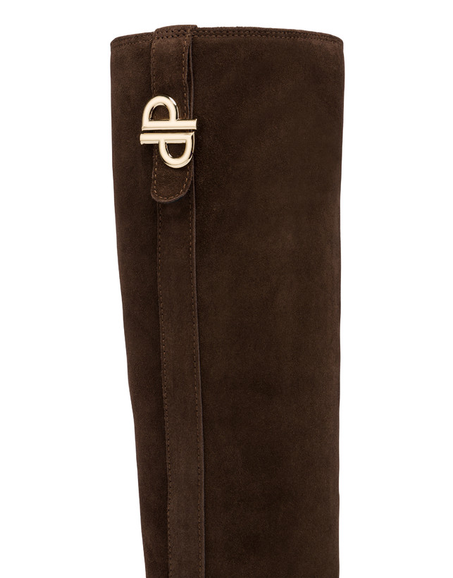 Twin P split-leather boots Photo 4