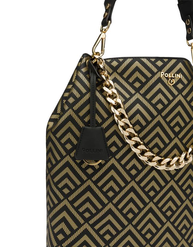 Hobo bag with Darlene geometric pattern Photo 6